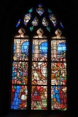Eglise - Deutsch: Bleiglasfenster in der Kirche Notre-Dame in Neufchâtel-en-Bray im Département Seine-Maritime, Frankreich; Signature: E. DIDRON 1873