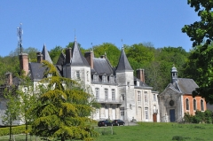 Château d'Esneval - English: Castle of Esneval (Normandy, France))