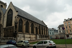 Eglise Saint-Godard - English: Rouen - Rue Jacques Villon - View ENE
