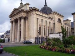 Eglise Sainte-Madeleine, ancienne église de l'Hôtel Dieu - English: Church Sainte-Madeleine at the Prefecture of Upper-Normandy in Rouen.
