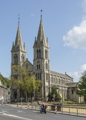 Ancienne église Saint-Paul - English: Rouen, France: Church St. Paul