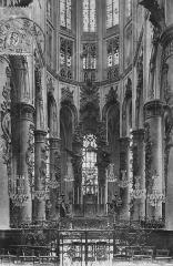 Ancienne église Saint-Vincent -  vue du chœur de l'église Saint Vincent de Rouen