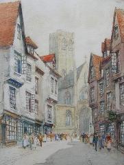 Ancienne église Saint-Vincent - British painter