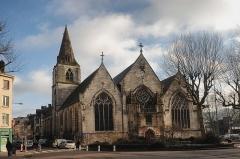 Eglise Saint-Vivien -  2014-01-12  Place Saint-Vivien