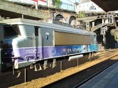 Gare rive droite -  BB 15034 Blason Sète