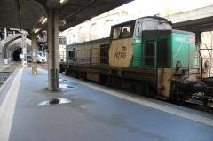 Gare rive droite - BB 64633 à Rouen-Rive-Droite