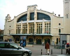 Gare rive droite -  Gare de Rouen Rue-Verte (Rive-Droite), in 2005.