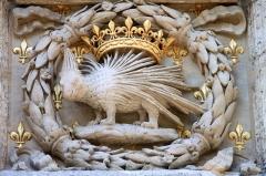 Hôtel de Bourgtheroulde -  Hôtel de Bourgtheroulde (Rouen) Le porc-épic, emblème de Louis XII -  the porcupine, King Louis XII of France's emblem. Hôtel de Bourgthéroulde, Rouen