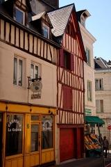 Immeuble -  Rouen_087_immeuble-166-rue-Beauvoisine