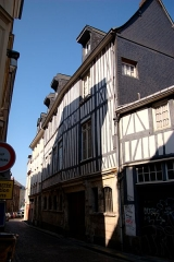 Immeuble -  Rouen_043_immeuble-50-rue-Saint-Patrice