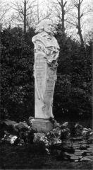 Jardin des Plantes - English: Bust of Eugène Noël (1816 – 1899), Norman writer.