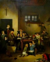 Maison de maître drapier, dite maison des Mariages ou maison Normande, ou maison des Quatre-Fils-Aymon, actuellement Musée national de l'Education - French painter