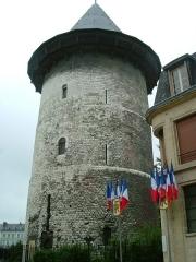 Tour dite de Jeanne d'Arc ou ancien donjon du château de Philippe-Auguste - English: Joan of Arc tower