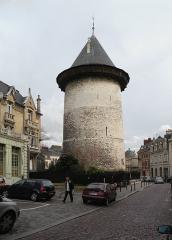 Tour dite de Jeanne d'Arc ou ancien donjon du château de Philippe-Auguste -  Jeanne_d_Arc_Tower._(Rouen).