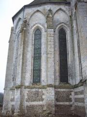 Eglise Saint-Martin - Français:   Chevet de l\'église de Sigy-en-Bray.