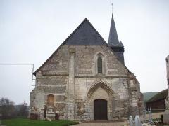 Eglise Saint-Martin - Français:   Portail occidental de l\'église Saint-Martin de Sigy-en-Bray.