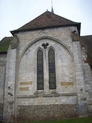 Eglise Saint-Martin - Français:   Transept de l\'église de Sigy-en-Bray.