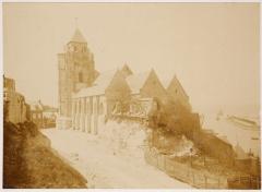 Eglise Saint-Jacques - English:   Le Tréport; Photoalbum Souvenir de Voyage 1901. Page 59. Photo 2. 12,1x20,4cm.