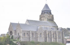 Eglise Saint-Jacques - English: Church of Le Tréport (France, Normandy)
