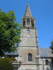 Eglise Notre-Dame - Français:   Valliquerville - ( Seine-Maritime) -  Eglise Notre-Dame - Clocher