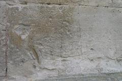 Eglise Saint-Martin -  Graffiti de l'église St Martin de Tours de Vatteville la Rue 1