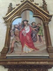 Eglise Saint-Martin - English:   Chemin de croix 1 église Saint Martin Veules les Roses France