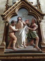 Eglise Saint-Martin - English: Chemin de croix 10 église Saint Martin Veules les Roses France