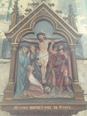 Eglise Saint-Martin - English:   Chemin de croix 12 église Saint Martin Veules les Roses France
