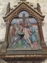 Eglise Saint-Martin - English: Chemin de croix 13 église Saint Martin Veules les Roses France
