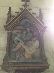 Eglise Saint-Martin - English: Chemin de croix 14 église Saint Martin Veules les Roses France