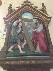 Eglise Saint-Martin - English: Chemin de croix 2 église Saint Martin Veules les Roses France