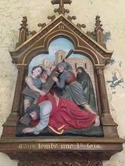 Eglise Saint-Martin - English: Chemin de croix 3 église Saint Martin Veules les Roses France