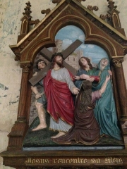 Eglise Saint-Martin - English:   Chemin de croix 4 église Saint Martin Veules les Roses France
