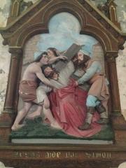 Eglise Saint-Martin - English:   Chemin de croix 5 église Saint Martin Veules les Roses France