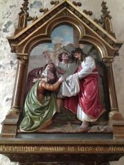 Eglise Saint-Martin - English: Chemin de croix 6 église Saint Martin Veules les Roses France
