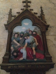 Eglise Saint-Martin - English: Chemin de croix 7 église Saint Martin Veules les Roses France