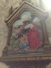Eglise Saint-Martin - English: Chemin de croix 8 église Saint Martin Veules les Roses France
