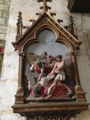 Eglise Saint-Martin - English:   Chemin de croix 9 église Saint Martin Veules les Roses France