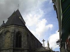 Eglise Saint-Martin - Français:   Veules-les-Roses. Saint-Martin.