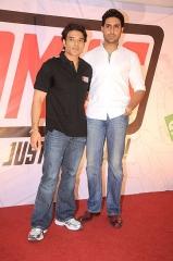 Ferme du Couvent - English: Abhishek Bachchan and Uday Chopra launch 'YOMICS'