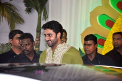 Ferme du Couvent - English: Abhishek Bachchan at Esha Deol's wedding at ISCKON temple