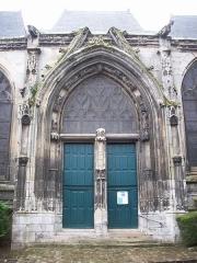 Eglise Saint-Ouen de Longpaon - Français:   Portail nord-est de St Ouen de Longpaon.