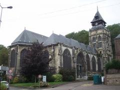 Eglise Saint-Ouen de Longpaon - Français:   St Ouen de Longpaon.