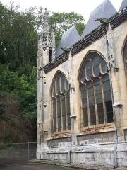 Eglise Saint-Ouen de Longpaon - Français:   Face sud-ouest de St Ouen de Longpaon.