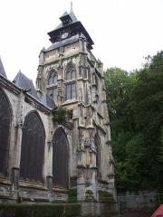 Eglise Saint-Ouen de Longpaon - Français:   Tour de St Ouen de Longpaon.