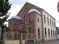 Synagogue - Deutsch: Synagoge von Belfort (Frankreich)