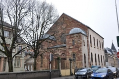 Synagogue -  Synagogue; 6 Rue de l'As de Carreau, Belfort, Franche-Comté, France