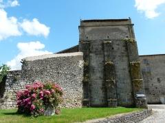 Ancienne abbaye Saint-Pierre - Bâtiments de l'ancienne abbaye, Airvault, Deux-Sèvres, France