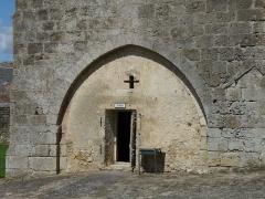 Ancienne abbaye Saint-Pierre - L'entrée de la prison, ancienne abbaye, Airvault, Deux-Sèvres, France
