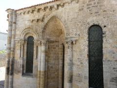 Ancienne abbaye Saint-Pierre - L'église abbatiale Saint-Pierre d'Airvault, Deux-Sèvres, France